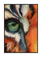 Tiger Eye by RowynK
