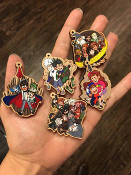 the charms have arrived