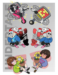 Undertale Charms