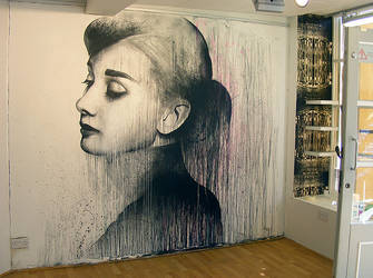 Audrey by benslowart