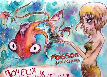 Fishy present by kawai-hime
