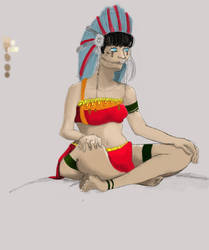 Indian by kawai-hime