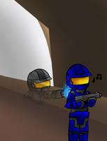 RvB-Tex vs Unsuspecting Guard