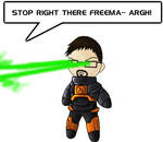 Gordon Freeman 'n Lasers