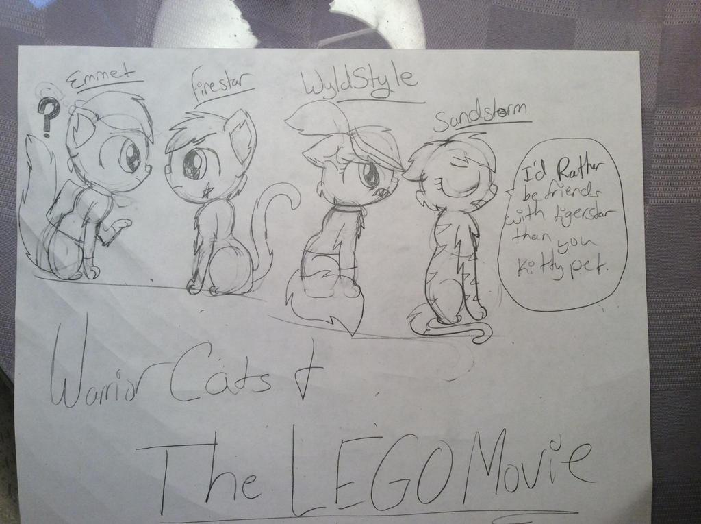Warrior Cats and The Lego movie by RainbowzForLife on DeviantArt