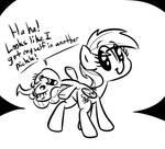 Rainbow Dash's Pony Tail