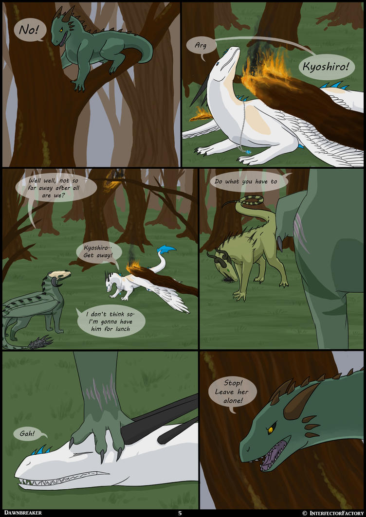 Dawnbreaker Page 5 by InterfectorFactory