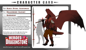 Keres - Character Card by InterfectorFactory