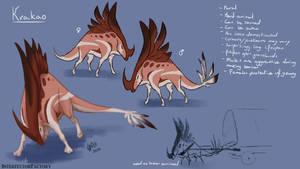 Lapstle creature concept