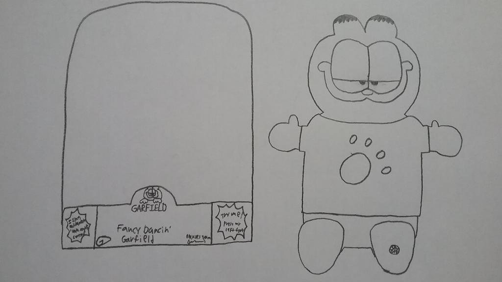 Fancy Dancin' Garfield by Gemmygod