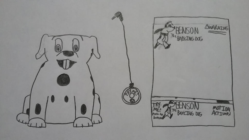 Benson the barking dog by Gemmygod