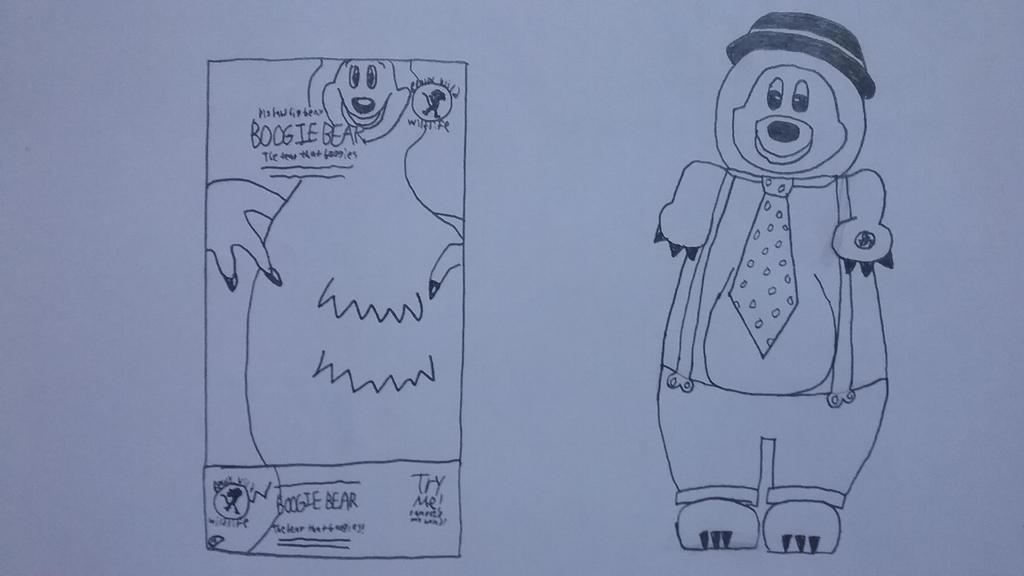 Big Band Big Belly Boogie Bear by Gemmygod