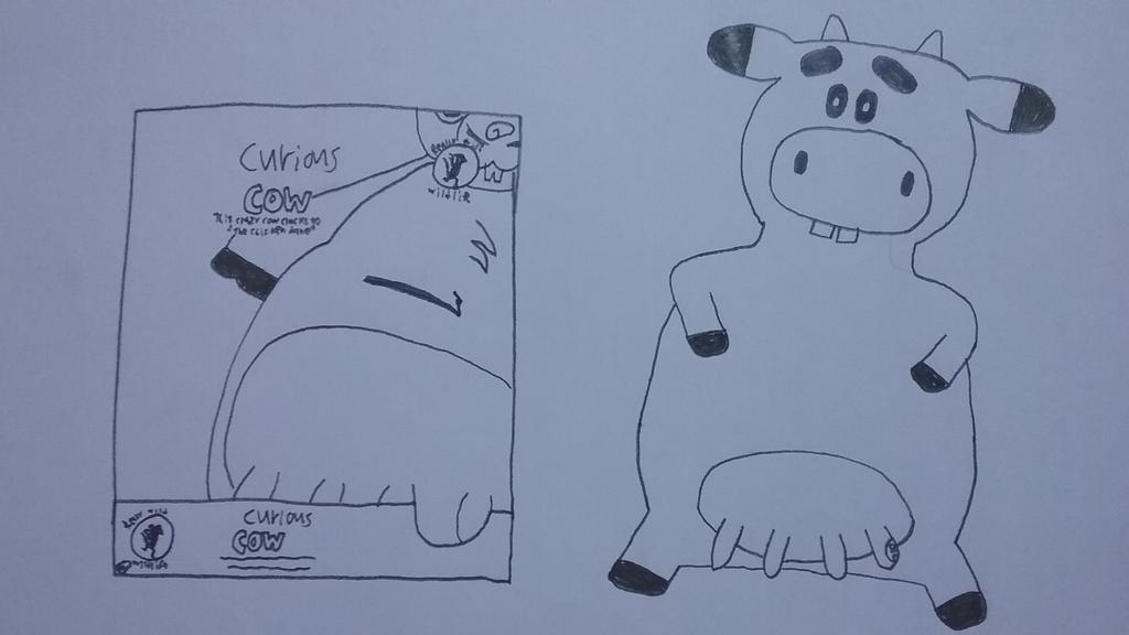Curious Cow by Gemmygod