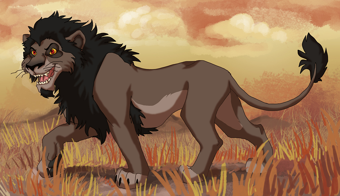 lion king scar wallpaper