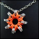 Orange Nova Pendant