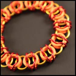 Fiery Stretchy Bracelet