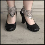 Chainmaille Ankle Cuffs
