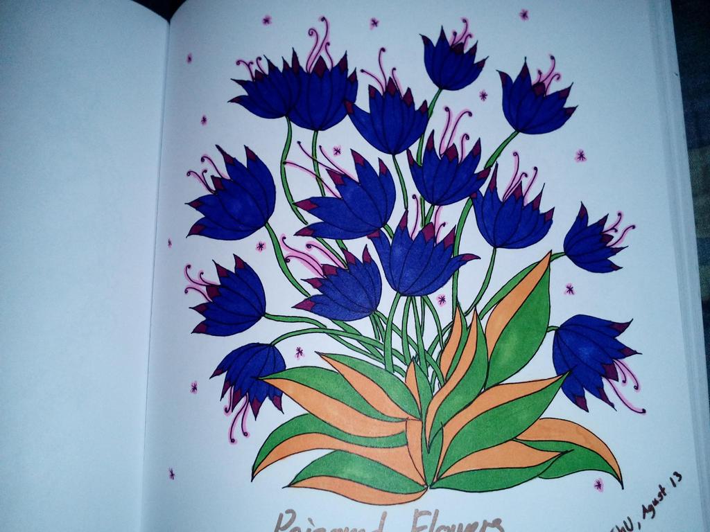 Purple flowers by wingsoffreedom123