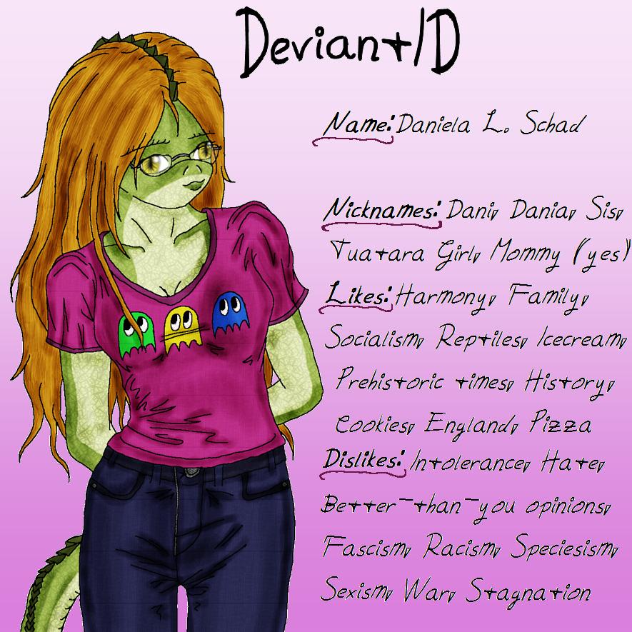 DeviantArt ID by DanielaLaverne