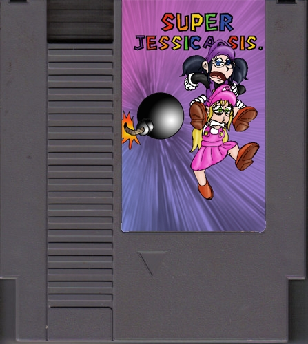 Super Jessica Sis. for the NES by DanielaLaverne