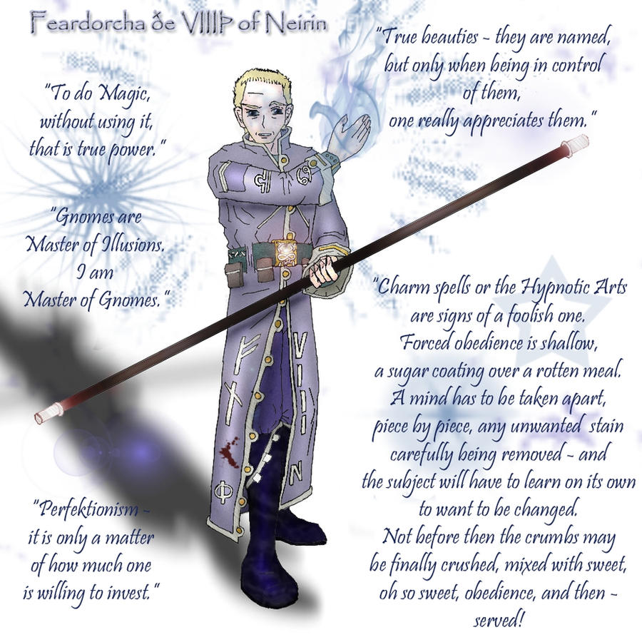 Villainous Minds: Feardorcha by DanielaLaverne