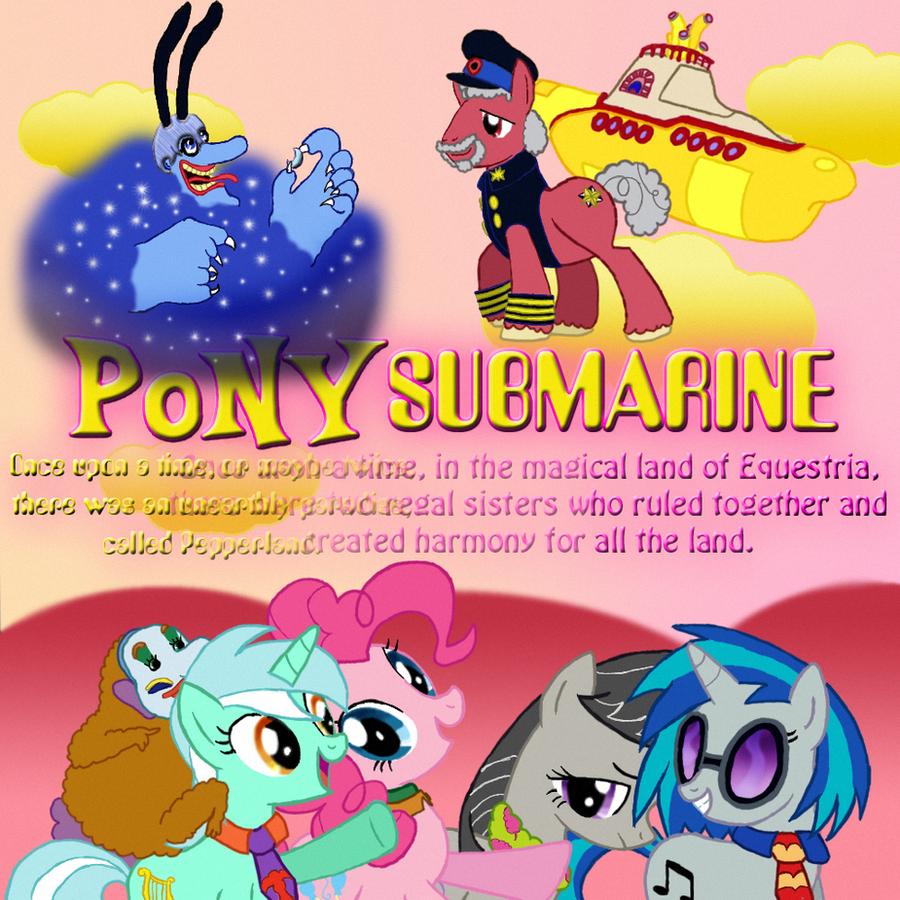 Pony Submarine by DanielaLaverne