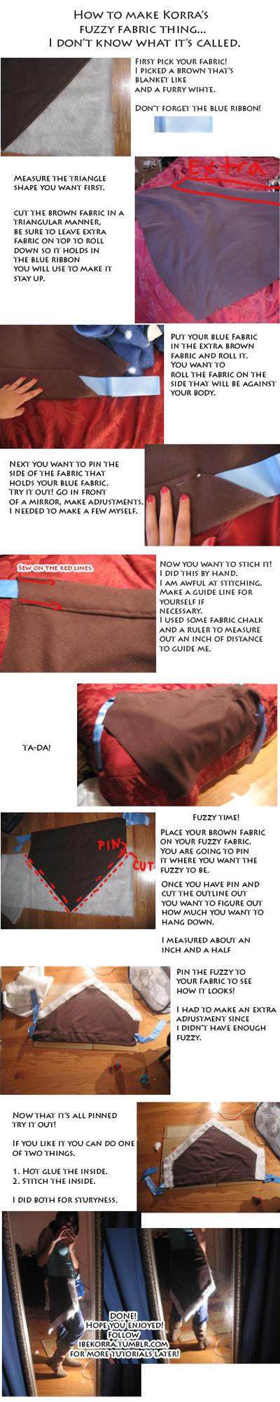Korra Fuzzy Thing tutorial by Naiagu