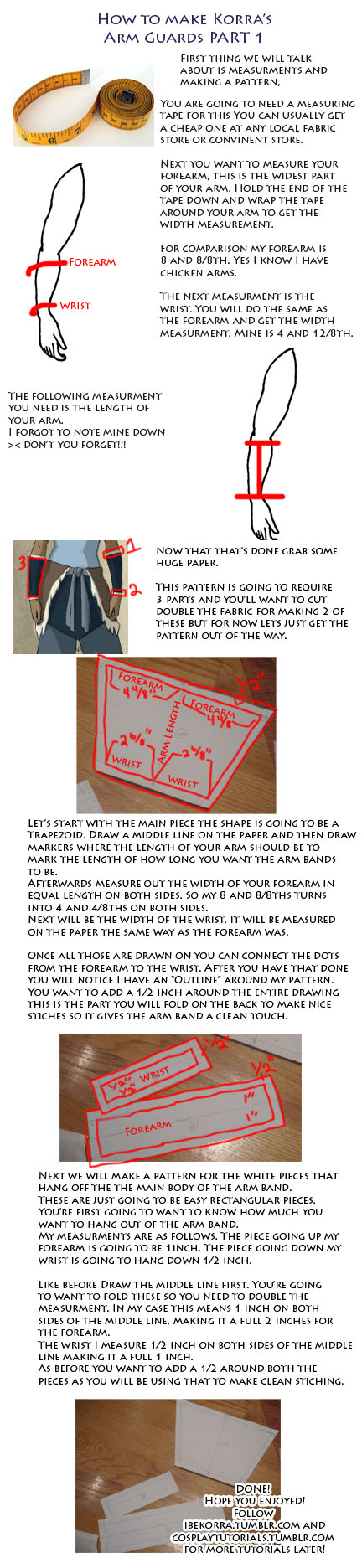 Korra Arm Band Part 1 Tutorial by Naiagu