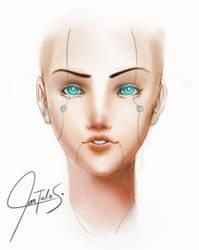 Testing # 1 : Semi-realism by chrisTULA092