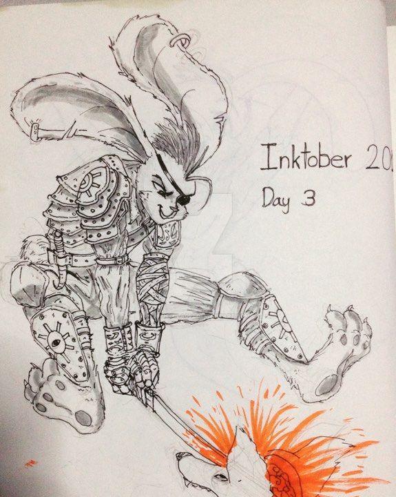 Rabbit Warrior by chrisTULA092