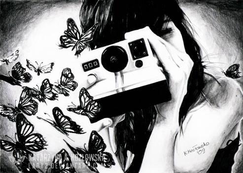 butterflies die alone.