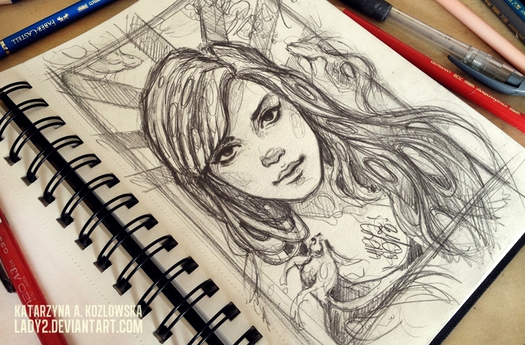 sketchbook_page. by Lady2