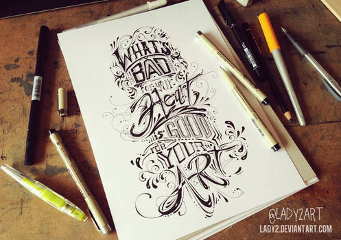 what's_bad ... - hand_lettering.