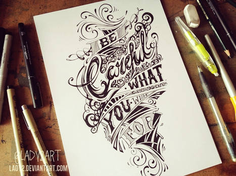 be_careful ... - hand_lettering.