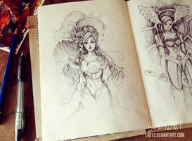 an_old_sketchbook.