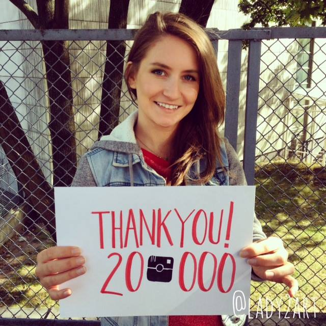 20.000 on my Instagram! by Lady2