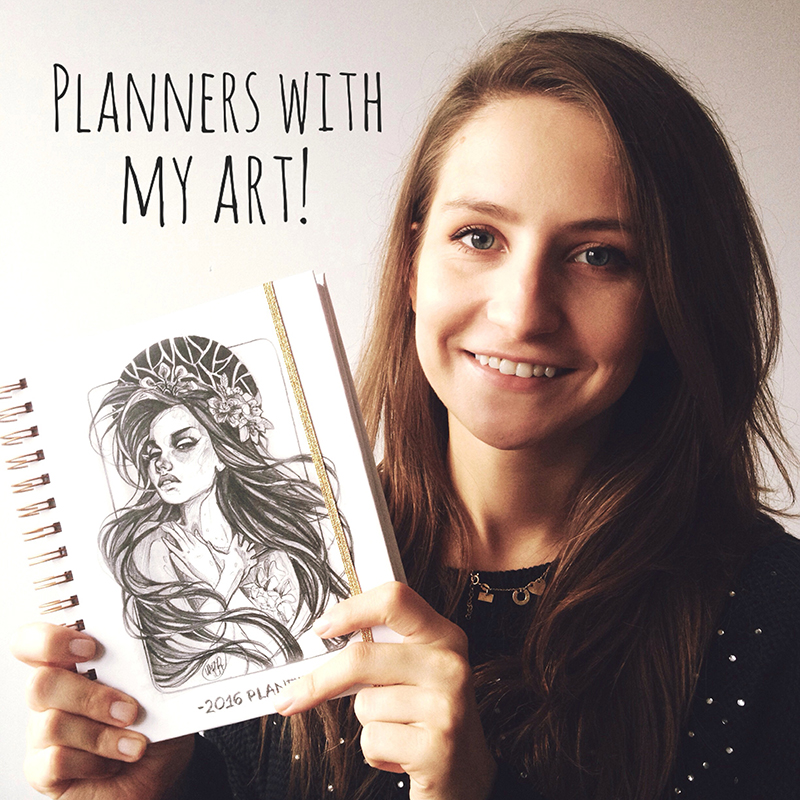 My 2016 planners! by Lady2