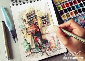 italian_streets. by Lady2