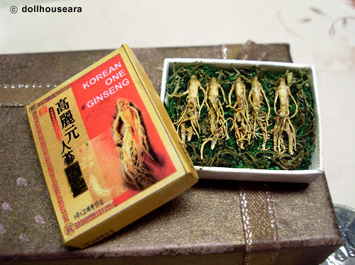 Korean Ginseng roots by dollhouseara