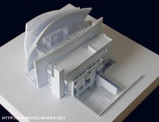 Jubilee Church model by artmik