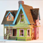 Up victorian dollhouse 360 by artmik