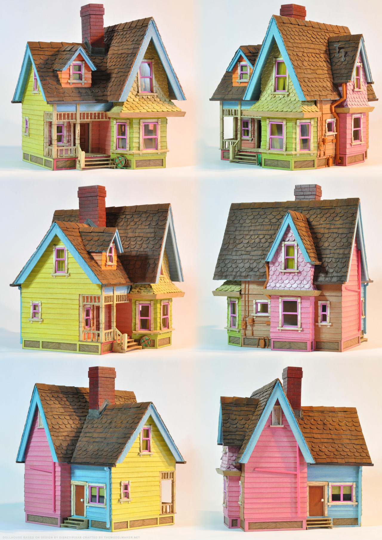 Up house paper model