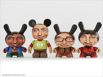 The Big Bang dunny gang by artmik