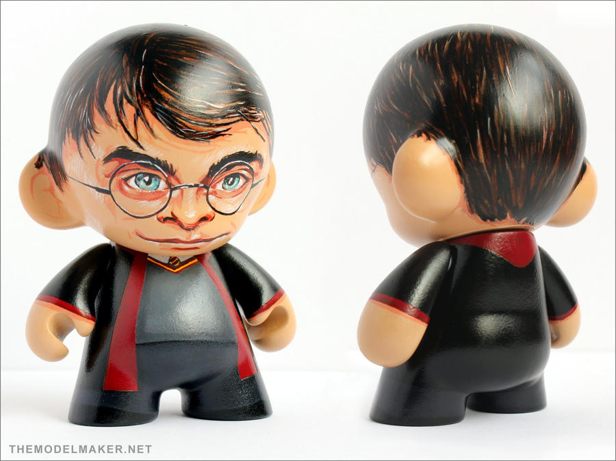 Harry Potter munny by artmik