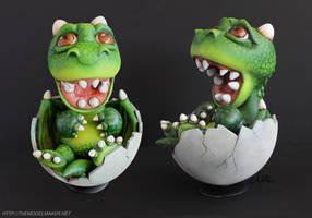 Baby Dragon by artmik