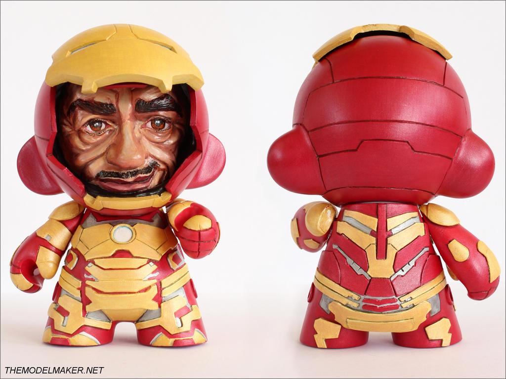 Iron Man Mark 42 munny by artmik