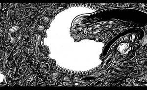 Alien Tomb by Steelpengu