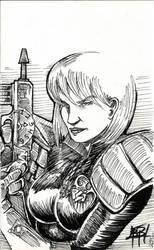 Anderson Sketch by Steelpengu