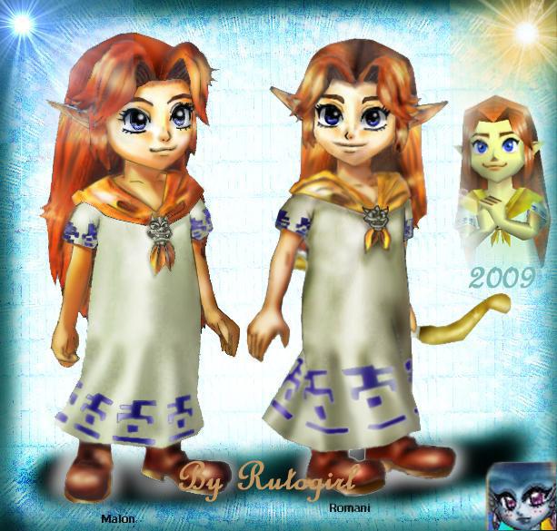 Favorite Legend of Zelda Game? - Page 4 N64_chara_remake_malon_romani_by_rutogirl-d3df8z6
