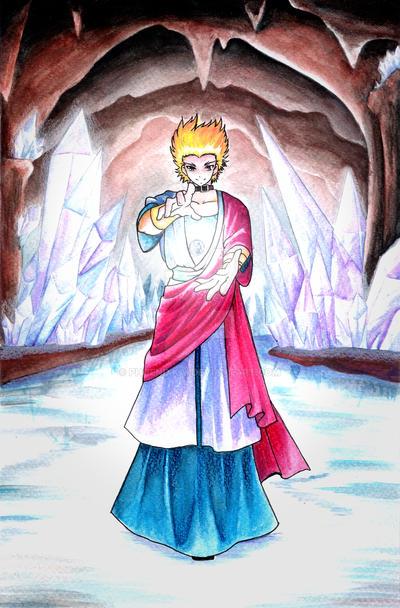 crystal heart by Phoenixkai